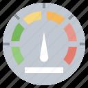 cars, speedometer, transport, vehicle icon