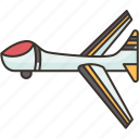drone, fixed, wing, aerial, vehicle