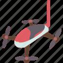 drone, racing, aircraft, quadcopter, propeller