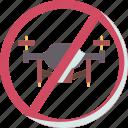 flight, restriction, drones, warning, prohibited