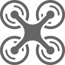 copter, device, drone, drones, quadcopter icon