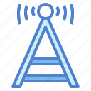 antenna, electrical, radio, technology icon