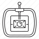 camera, drone, sensor, stabilizer icon