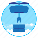 drohne, drone, machine, robot icon