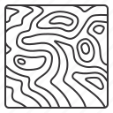contours, elevation, location, map