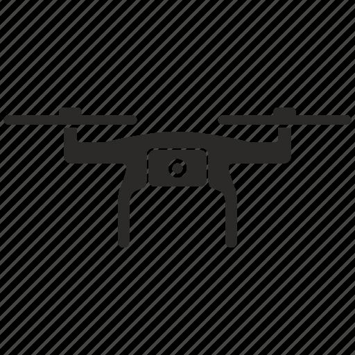camera, drone, robot icon