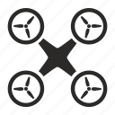drone, helicopter, mashine, robot icon
