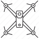above, drone, race, uav icon