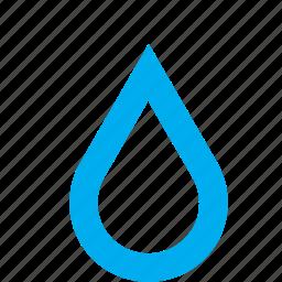 drop, droplet, raindrop, water icon