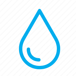 drop, droplet, raindrop, shine, shiny, water icon