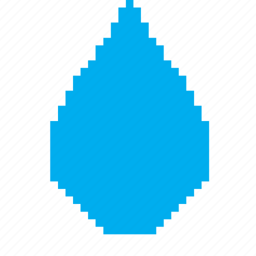drop, droplet, raindrop, water icon