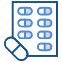 capsules, drugs, healthcare, medicine, pharmacy, pills, tablets icon