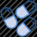 capsules, drugs, healthcare, medicine, pills, tablets icon