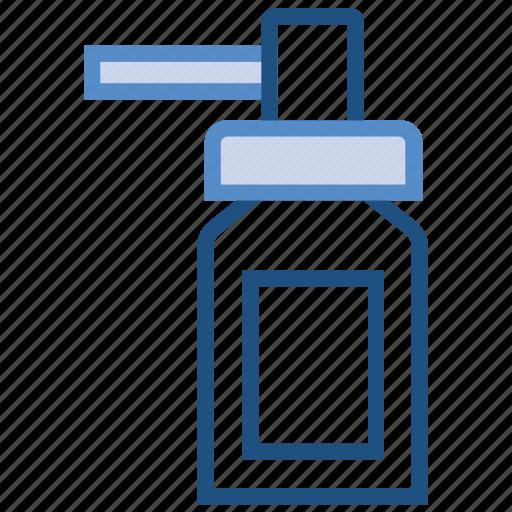 bottle, drugs, medicine, nasal, spray icon