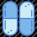 capsules, doctor, hospital, medicine icon