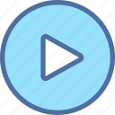 audio, music, play, player, video icon