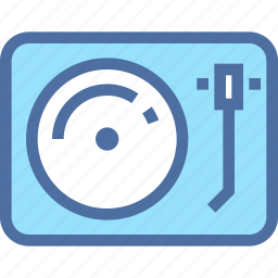 audio, bell, gramophone, music, player, sound, vinyl icon