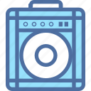amp, audio, box, music, player, sound icon