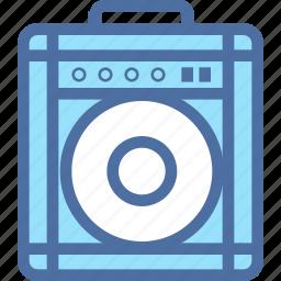 amp, audio, box, music, player, sound icon