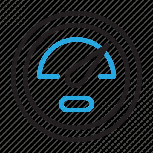 bandwidth, dashboard, power, settings icon