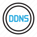 control, ddns, dns, settings icon