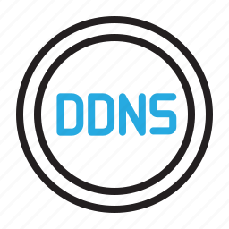 control, ddns, dns, settings icon