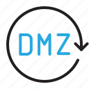 control, demilitarized, dmz, settings icon