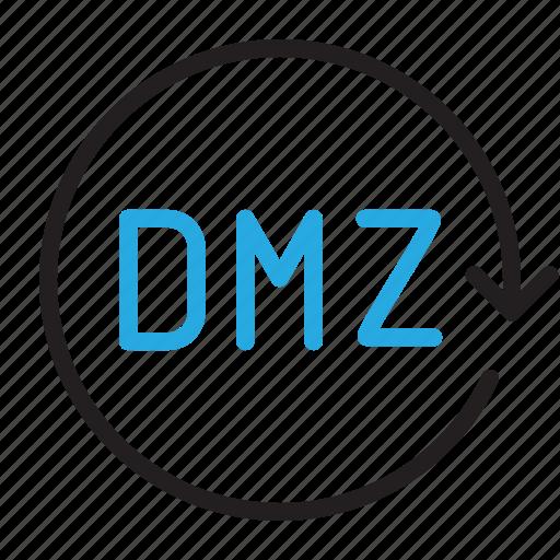 control, demilitarized, dmz, settings icon