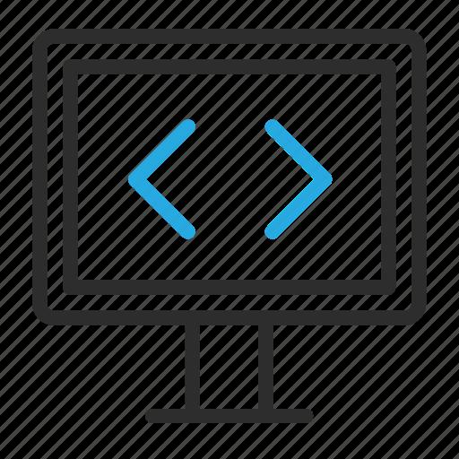 bash, command, monior, remote, web icon