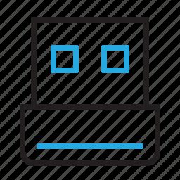 dongle, plug, plugin, usb icon
