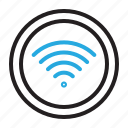 network, signal, wifi, wireless icon