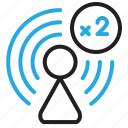 alt, repeating, repeter, wifi, wireless icon