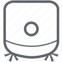 clean, cleaning, dust, dust robot, robot, supporter, vacuum cleaner icon