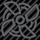 air, dust, fan, machine, motor, propeller, vacuum cleaner icon