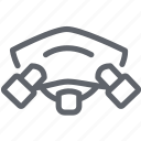 dust, factory, filter, mask, n95, pollution, protection icon