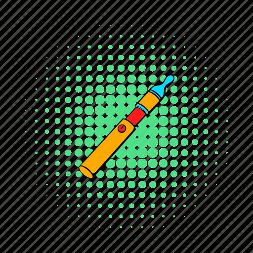 addiction, cigarette, comics, electronic, nicotine, vapor, vaporizer icon
