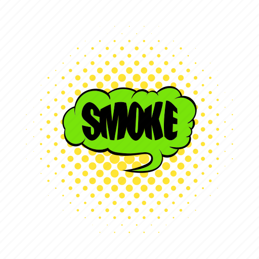 addiction, comics, smoke, smoking, text, word, wording icon