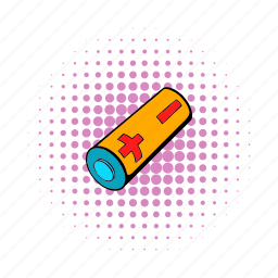 battery, cigarette, comics, electricity, electronic, fuel, power icon