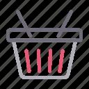 basket, buying, cart, shopping, trolley icon