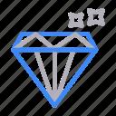 diamond, ecommerce, gem, ruby, stone icon