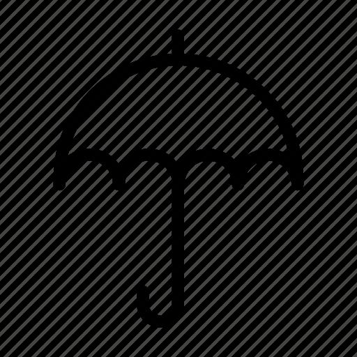 protection, rain, secure, umbrella, weather icon