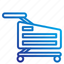 cart, commerce, ecomerce, market icon