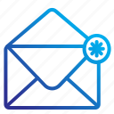 commerce, ecommerce, email, mail icon