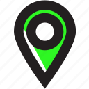 asset, location, marker, pin icon