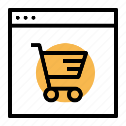cart, discount, ecommerce, offer, sale, shop, window icon