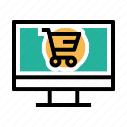 cart, device, ecommerce, finance, offer, sale, shop icon