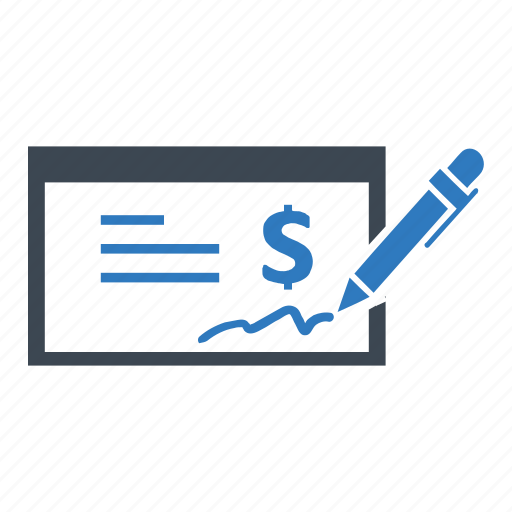bank, check, payment icon