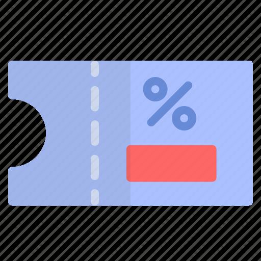 code, cuopon, ticket, voucher icon