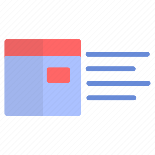 box, delivery, fast, label icon