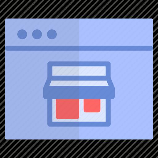 online, store, webshopping, zalando icon
